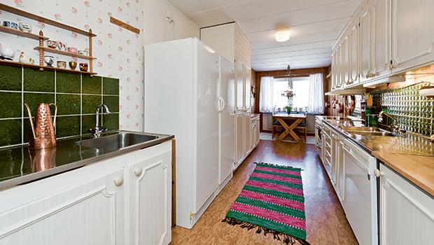 Köket innan renoveringen. Foto: Privat.
