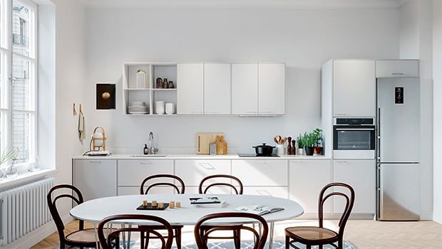 Genom att välja energisnåla vitvaror i köket kan du undvika onödigt energispill. Foto: Ballingslöv